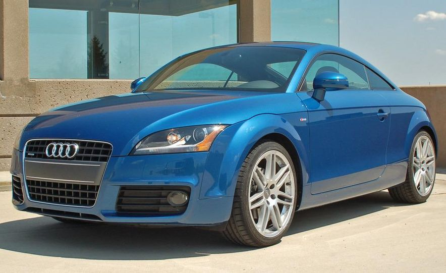 2011 Audi TT coupe (European spec) - Slide 82