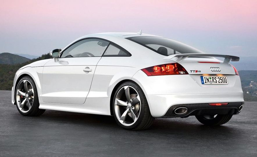 2011 Audi TT coupe (European spec) - Slide 13