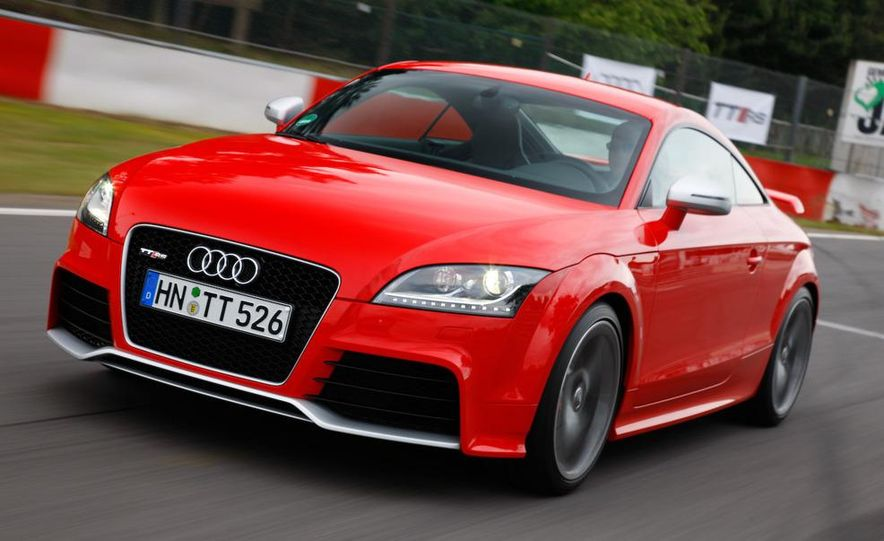 2011 Audi TT coupe (European spec) - Slide 23