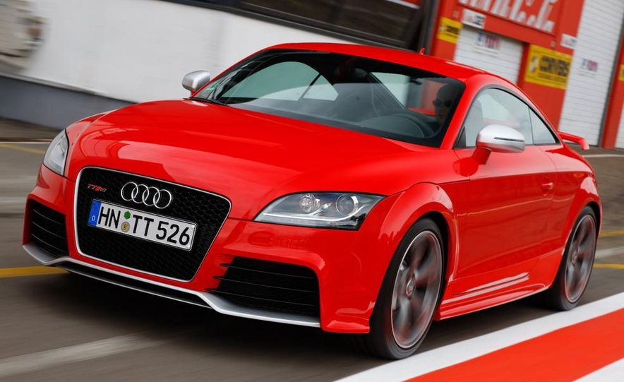 2011 Audi TT coupe (European spec) - Slide 25