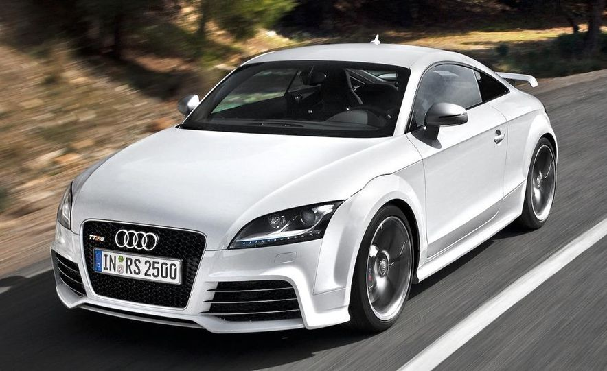 2011 Audi TT coupe (European spec) - Slide 18