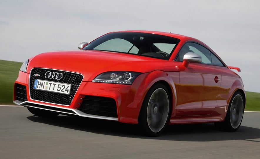 2011 Audi TT coupe (European spec) - Slide 26