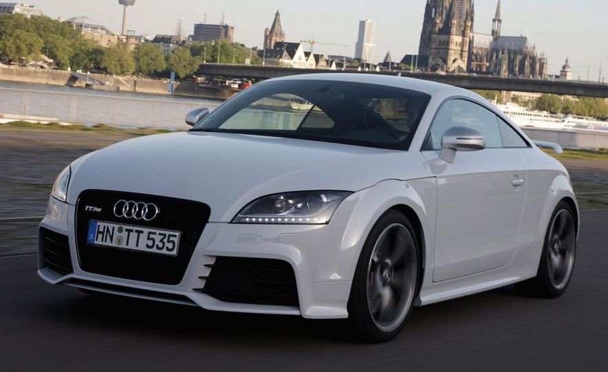 2011 Audi TT coupe (European spec) - Slide 19