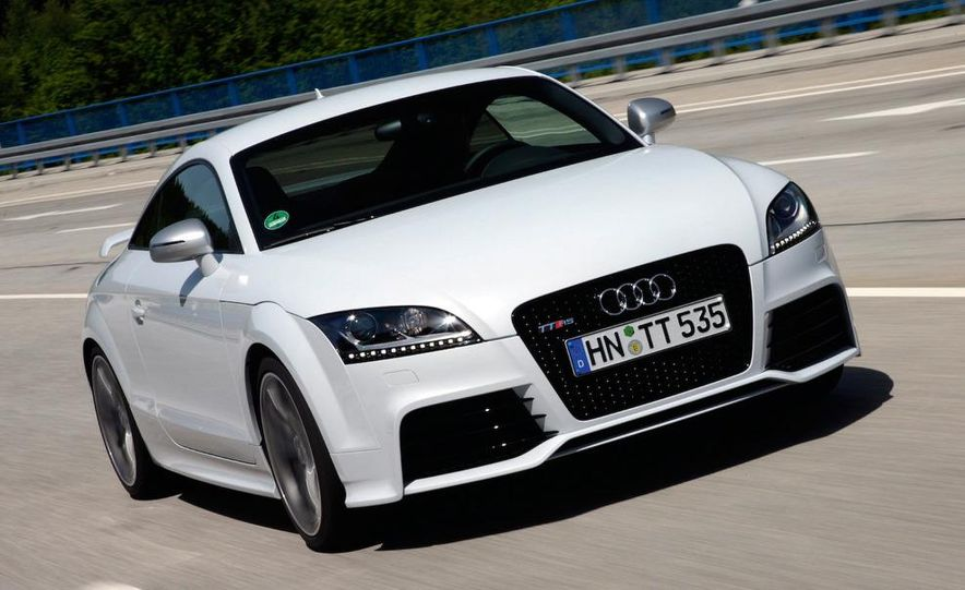 2011 Audi TT coupe (European spec) - Slide 21