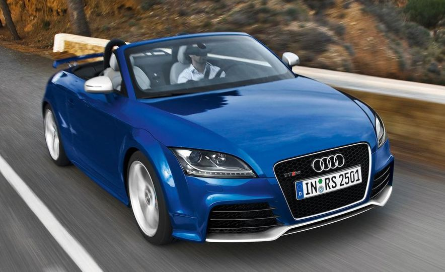 2011 Audi TT coupe (European spec) - Slide 28