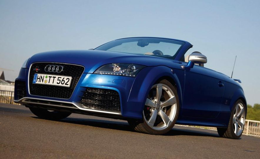 2011 Audi TT coupe (European spec) - Slide 30