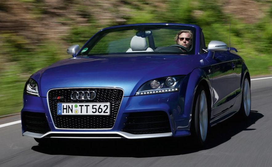 2011 Audi TT coupe (European spec) - Slide 34