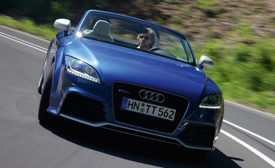 2011 Audi TT coupe (European spec) - Slide 35