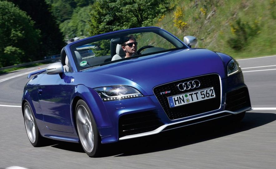 2011 Audi TT coupe (European spec) - Slide 37