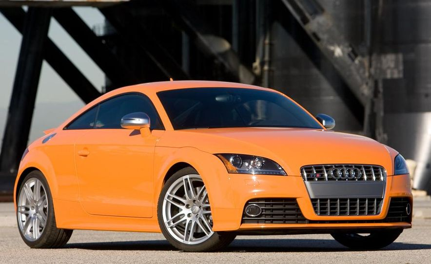 2011 Audi TT coupe (European spec) - Slide 38