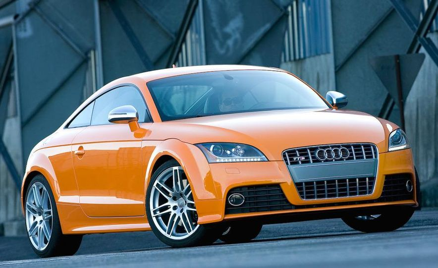 2011 Audi TT coupe (European spec) - Slide 42