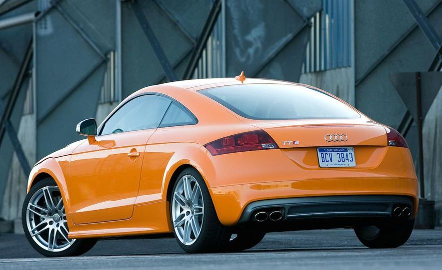 2011 Audi TT coupe (European spec) - Slide 43
