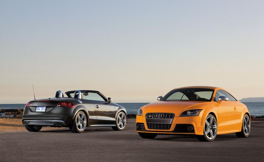 2011 Audi TT coupe (European spec) - Slide 63