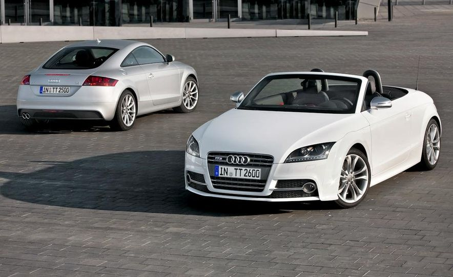 2011 Audi TT coupe (European spec) - Slide 8