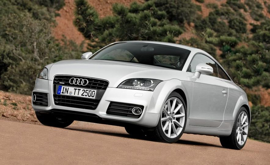 2011 Audi TT coupe (European spec) - Slide 1