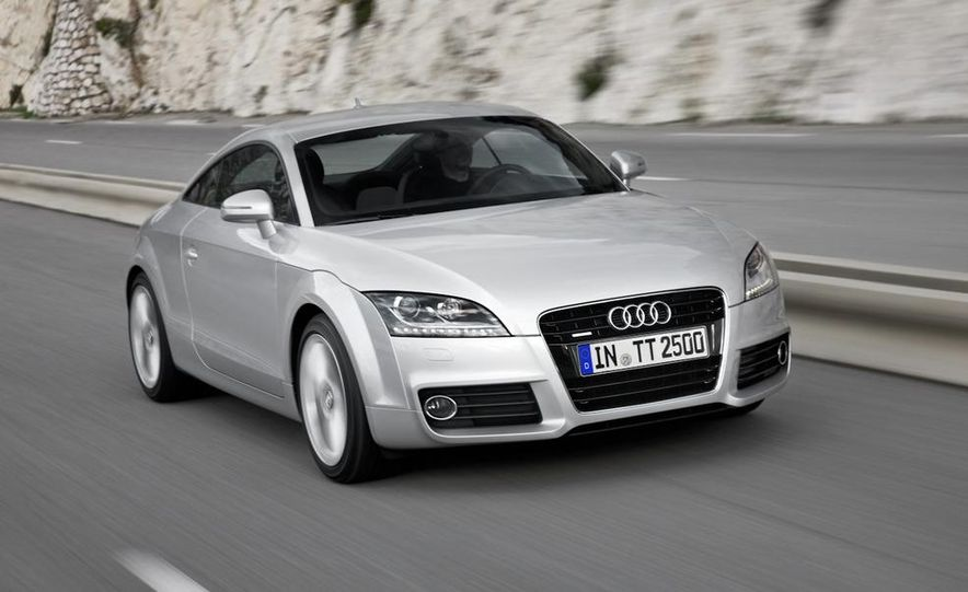 2011 Audi TT coupe (European spec) - Slide 4