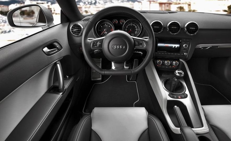 2011 Audi TT coupe (European spec) - Slide 7