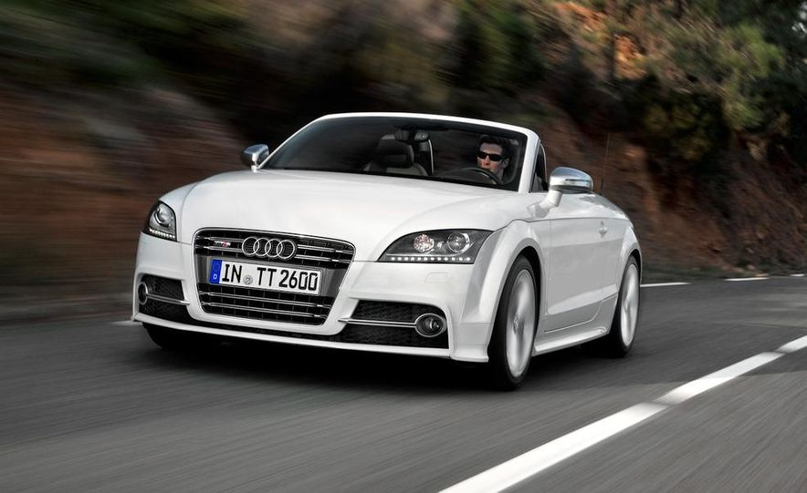2011 Audi TT coupe (European spec) - Slide 10