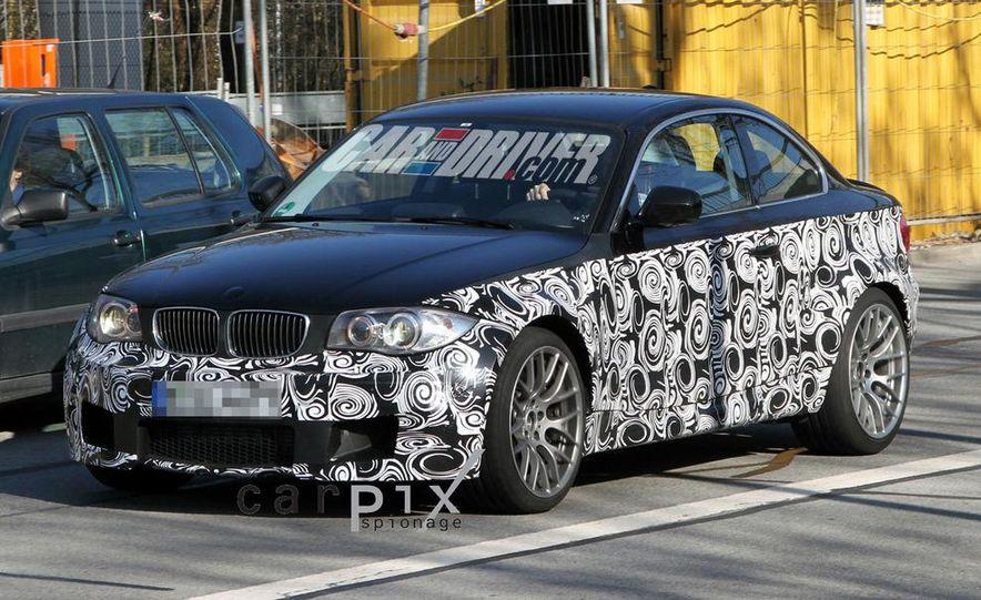 BMW 1-series M coupe (spy photo) - Slide 1
