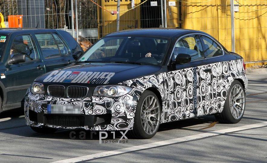 BMW 1-series M coupe (spy photo) - Slide 2