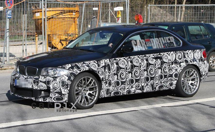 BMW 1-series M coupe (spy photo) - Slide 4