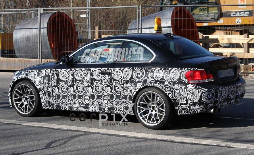 BMW 1-series M coupe (spy photo) - Slide 6