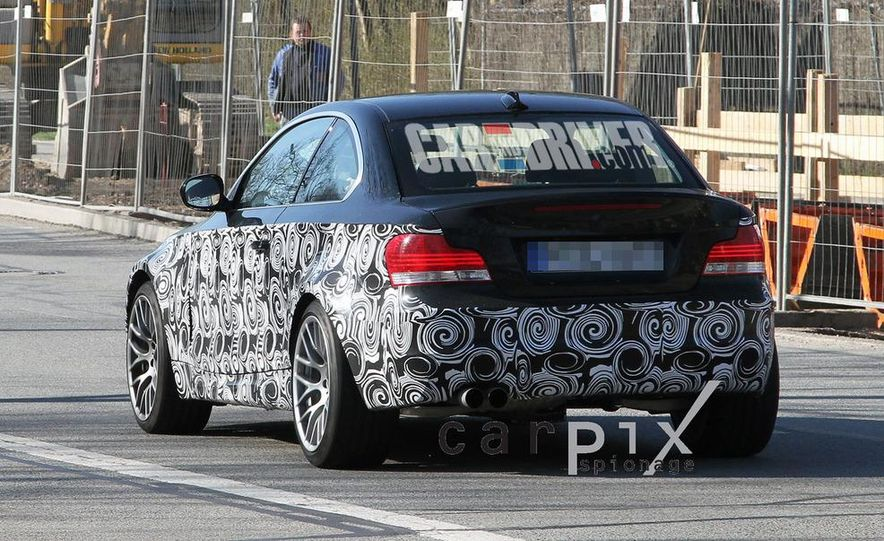 BMW 1-series M coupe (spy photo) - Slide 7