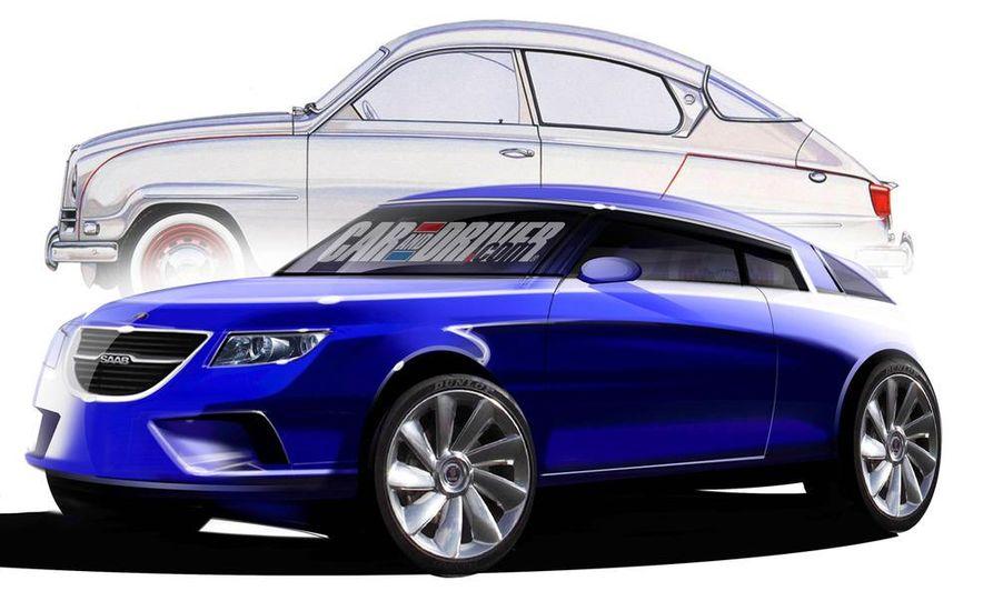 Saab 92 (artist's rendering) - Slide 1