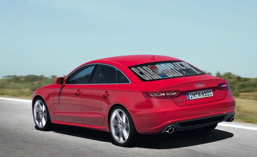 2012 Audi A6 (artist's rendering) - Slide 2