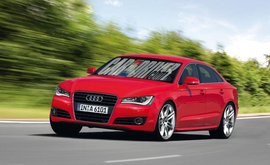 2012 Audi A6 (artist's rendering) - Slide 1