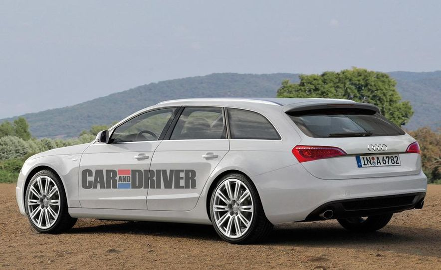 2012 Audi A6 (artist's rendering) - Slide 3