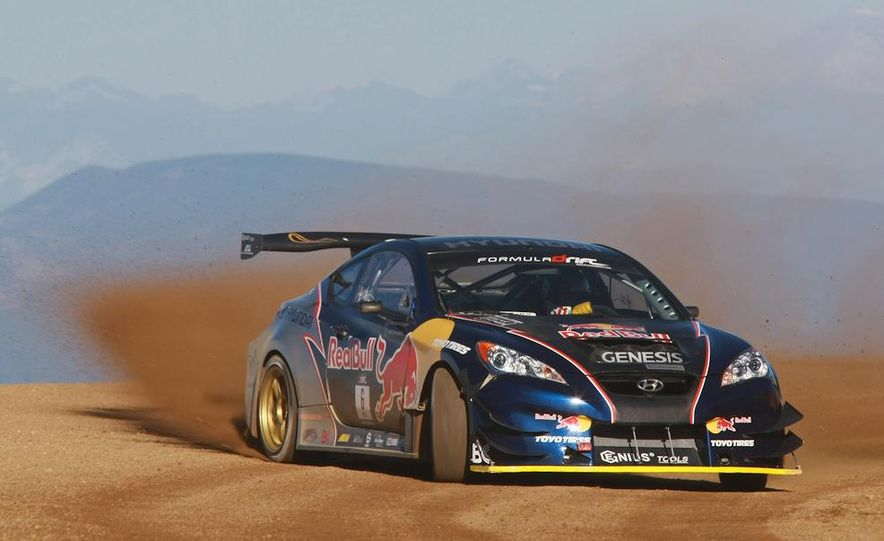 Hyundai Genesis PM580 Pikes Peak race car by Rhys Millen Racing - Slide 4