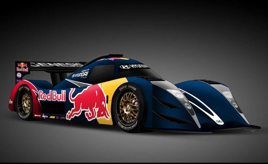 Hyundai Genesis PM580 Pikes Peak race car by Rhys Millen Racing - Slide 1