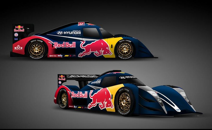 Hyundai Genesis PM580 Pikes Peak race car by Rhys Millen Racing - Slide 2