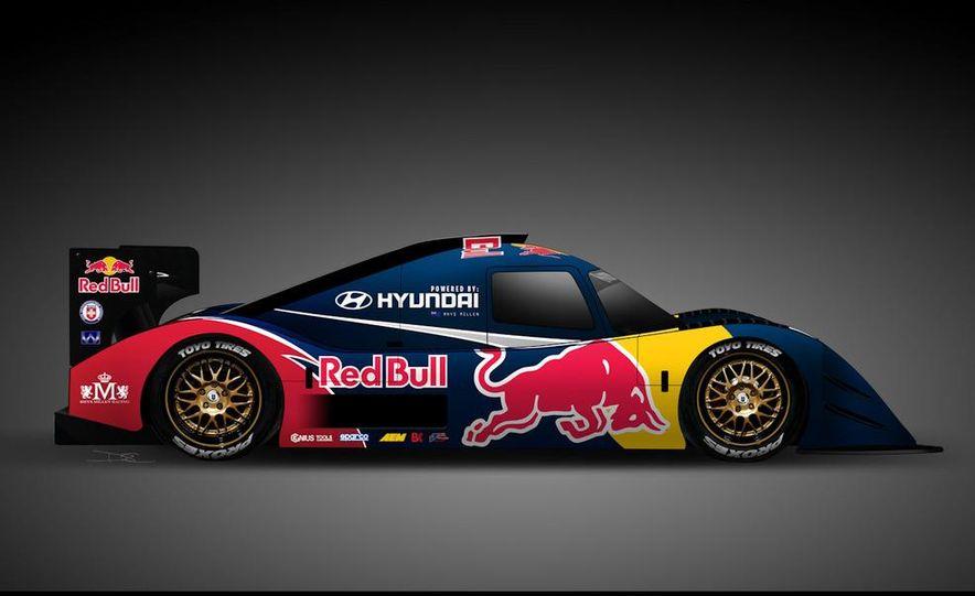 Hyundai Genesis PM580 Pikes Peak race car by Rhys Millen Racing - Slide 3