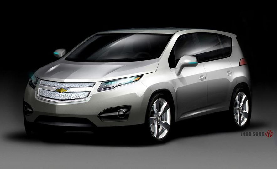 Chevrolet Volt MPV5 electric concept - Slide 18