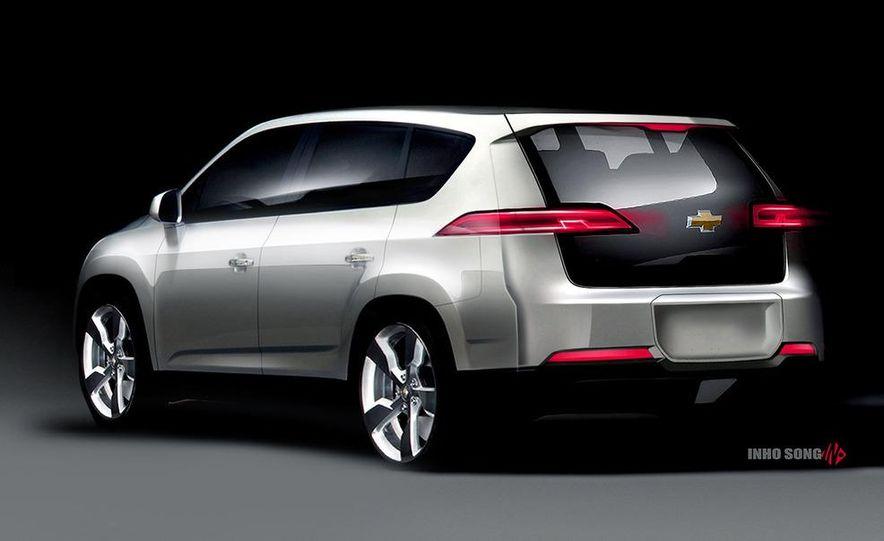 Chevrolet Volt MPV5 electric concept - Slide 19