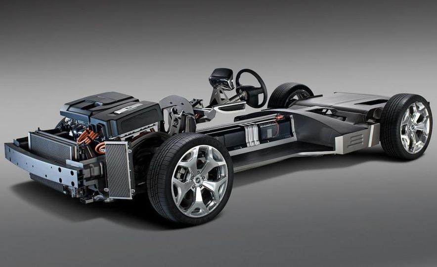 Chevrolet Volt MPV5 electric concept - Slide 72