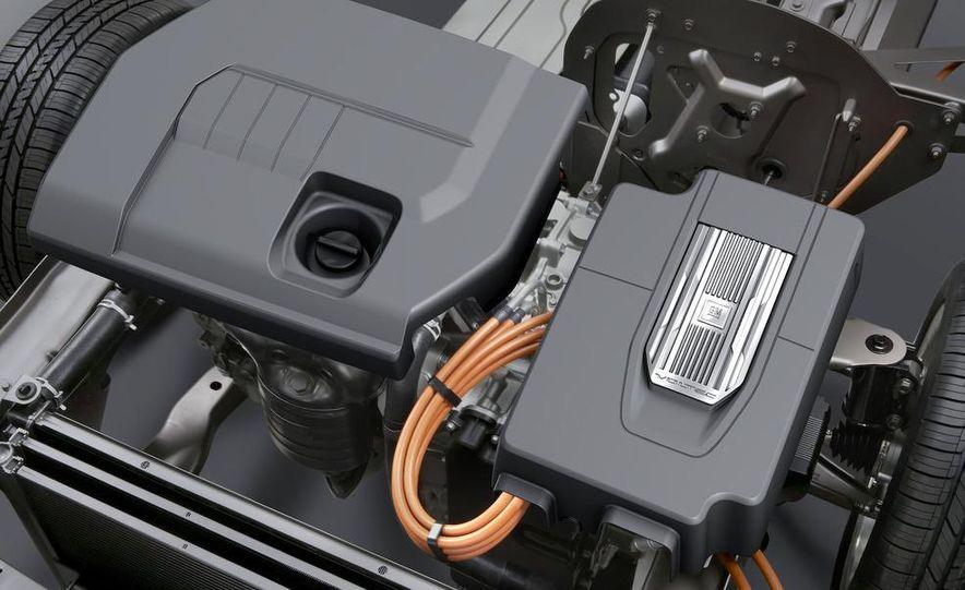 Chevrolet Volt MPV5 electric concept - Slide 21