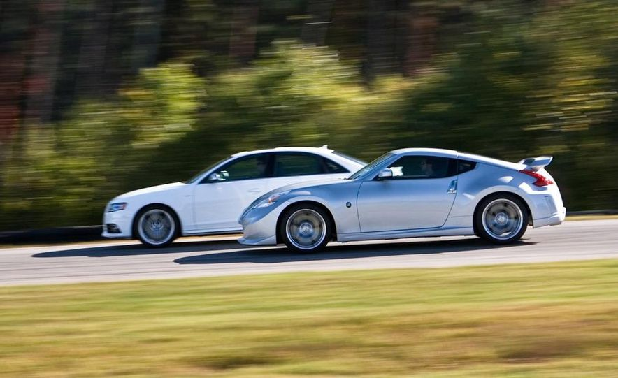2009 Nissan NISMO 370Z and 2010 Audi S4 at VIR for the Lightning Lap, 2009 - Slide 2