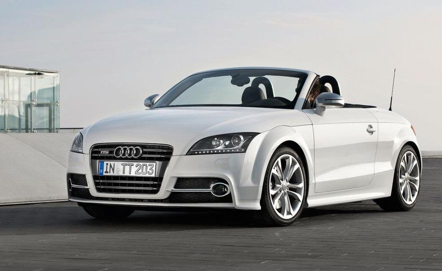 2011 Audi TT TDI (European spec) - Slide 14