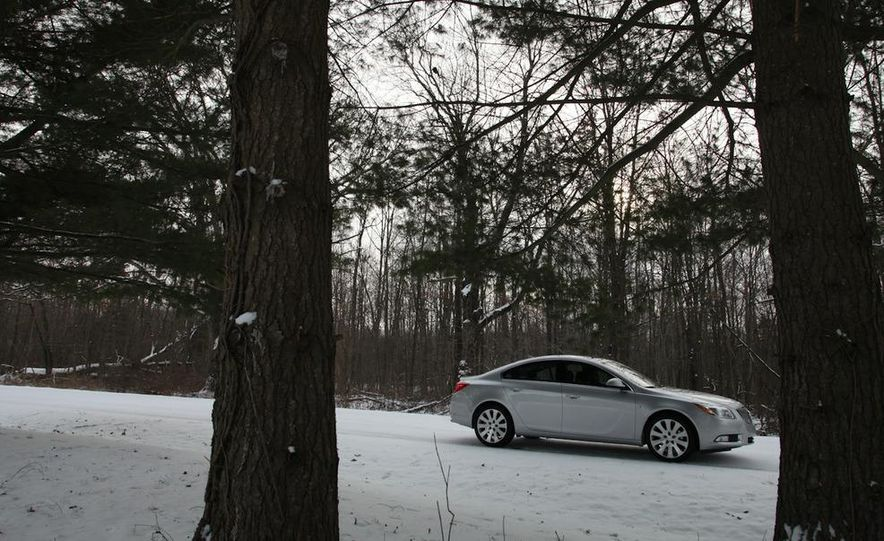 2012 Buick Regal wagon - Slide 42