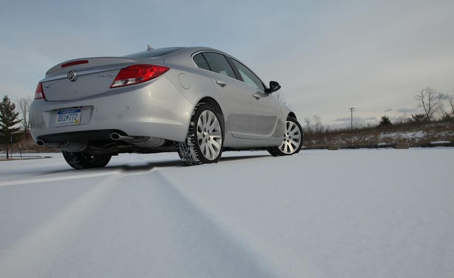 2012 Buick Regal wagon - Slide 43