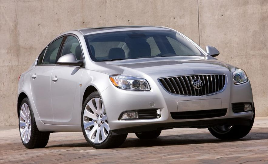 2012 Buick Regal wagon - Slide 44