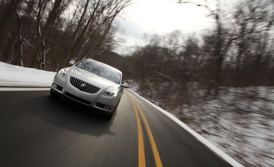 2012 Buick Regal wagon - Slide 45