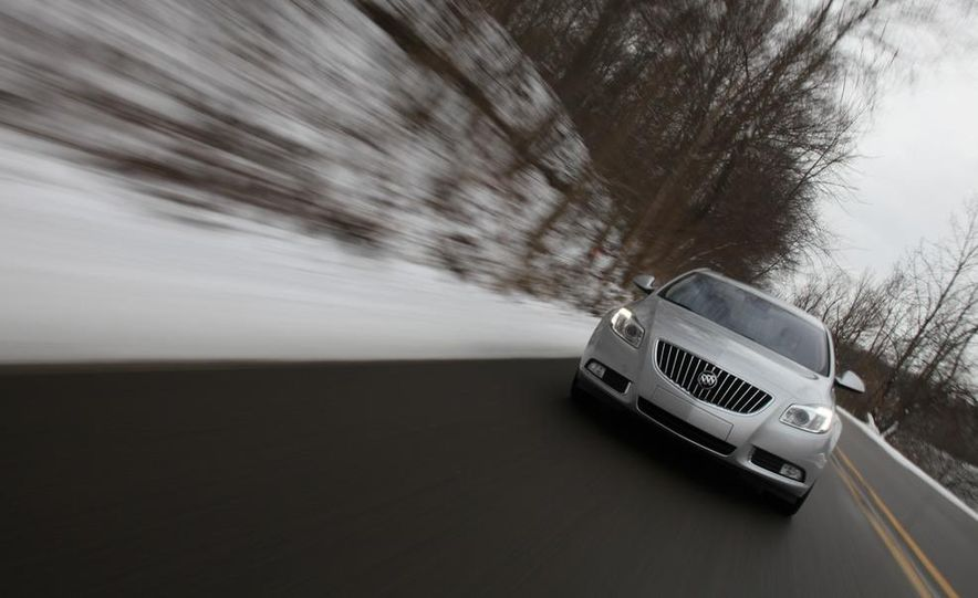 2012 Buick Regal wagon - Slide 46