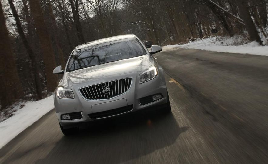 2012 Buick Regal wagon - Slide 47