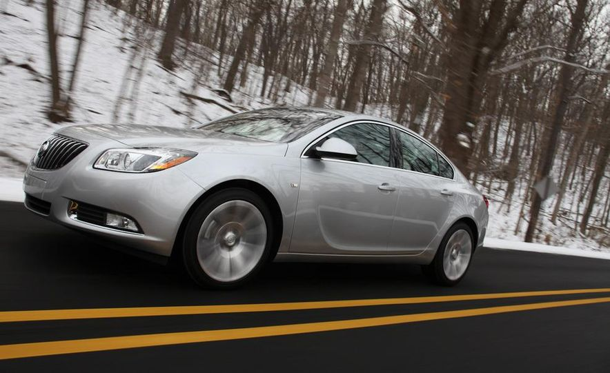 2012 Buick Regal wagon - Slide 48