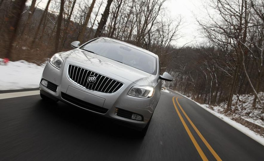 2012 Buick Regal wagon - Slide 49