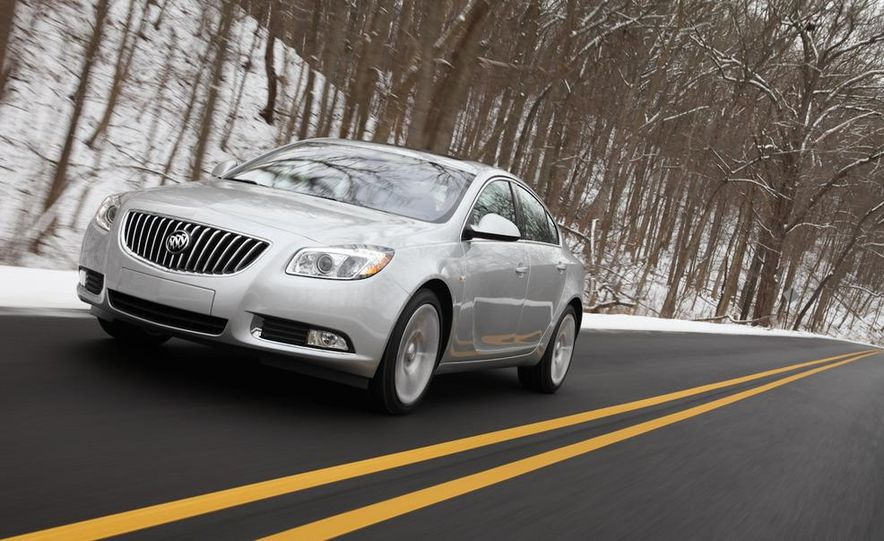 2012 Buick Regal wagon - Slide 50
